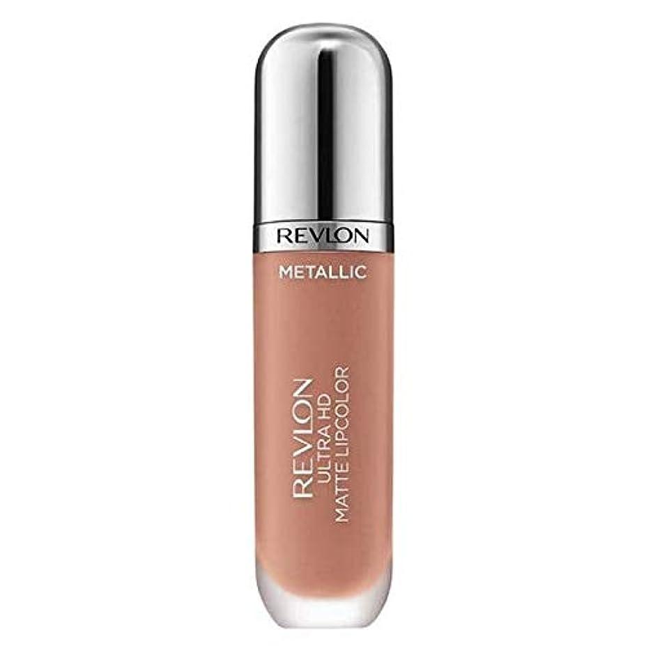 線神社週末[Revlon ] レブロンウルトラHdマットメタリックリップグロー - Revlon Ultra HD Matte Metallic Lip Glow [並行輸入品]