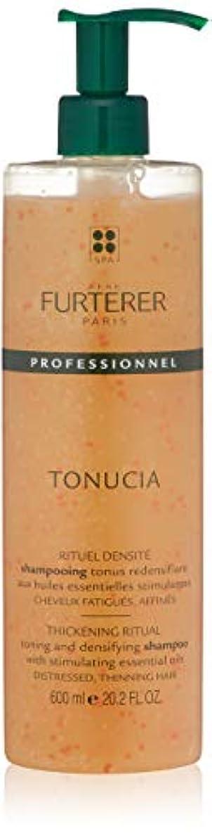 楽観的軸櫛ルネ フルトレール Tonucia Thickening Ritual Toning and Densifying Shampoo - Distressed, Thinning Hair (Salon Product)...