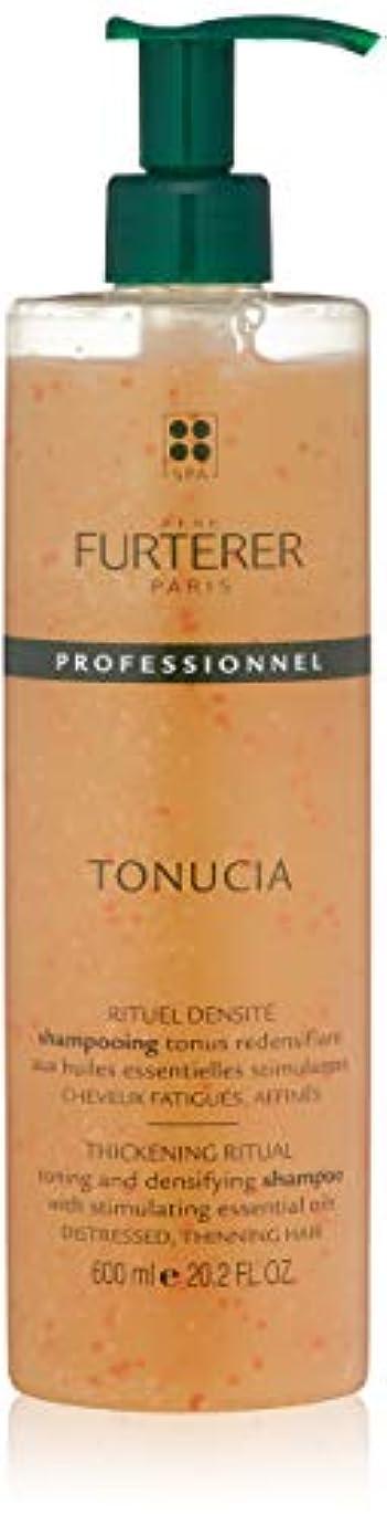 明確なアニメーション原告ルネ フルトレール Tonucia Thickening Ritual Toning and Densifying Shampoo - Distressed, Thinning Hair (Salon Product)...