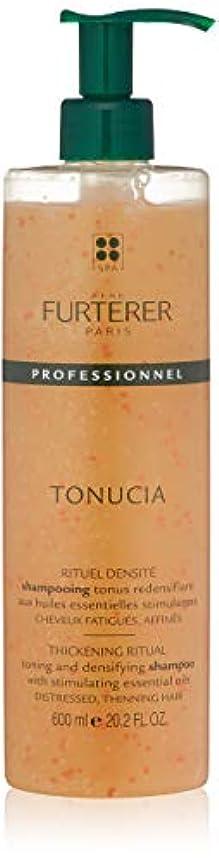 故障かすかな妊娠したルネ フルトレール Tonucia Thickening Ritual Toning and Densifying Shampoo - Distressed, Thinning Hair (Salon Product)...