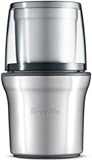 Breville BCG200BSS The Coffee & Spice Grinder, Brushed Stainless Steel, Si