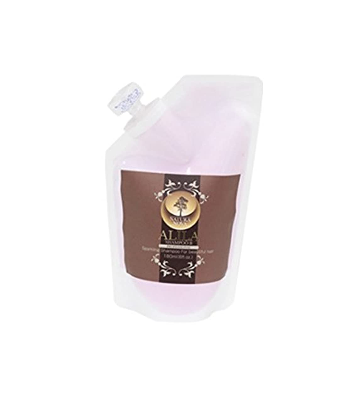 ママ平らにする作り上げるナチュラノバ アリラシャンプー B剤 レフィル 180ml