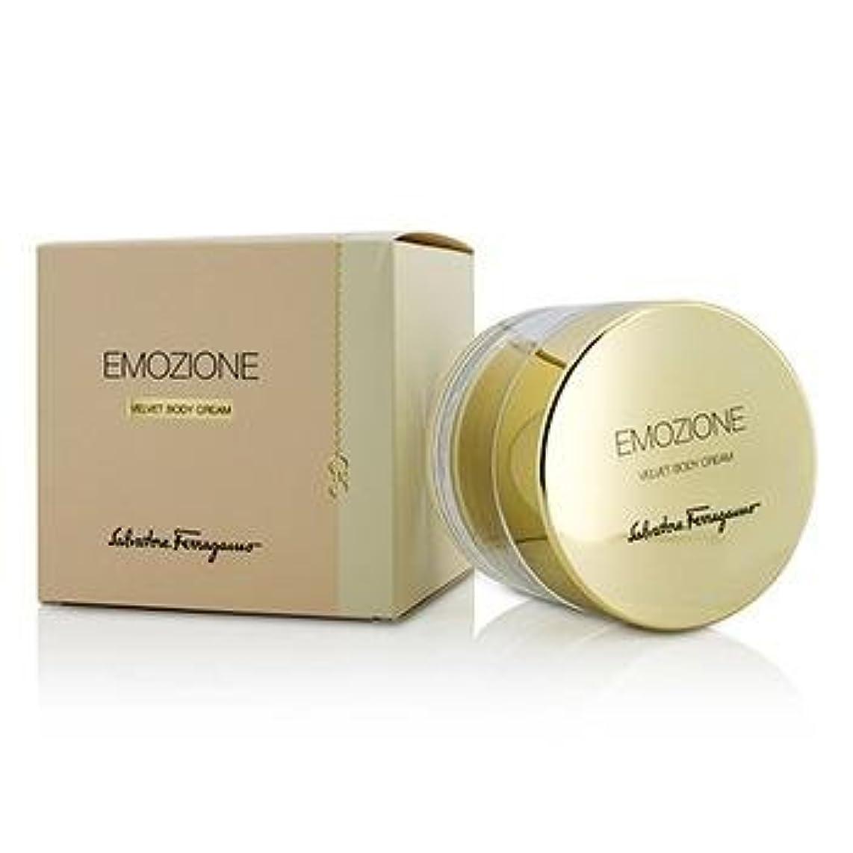 公式詳細なタッチサルバトーレフェラガモ Emozione Velvet Body Cream 150ml
