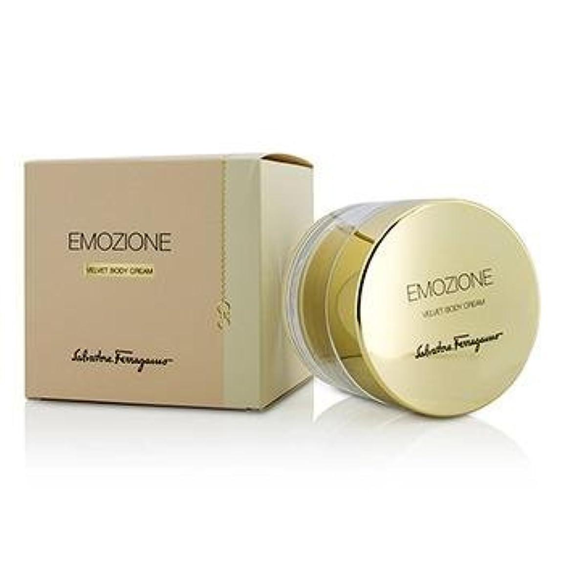 引用わかりやすい退化するサルバトーレフェラガモ Emozione Velvet Body Cream 150ml