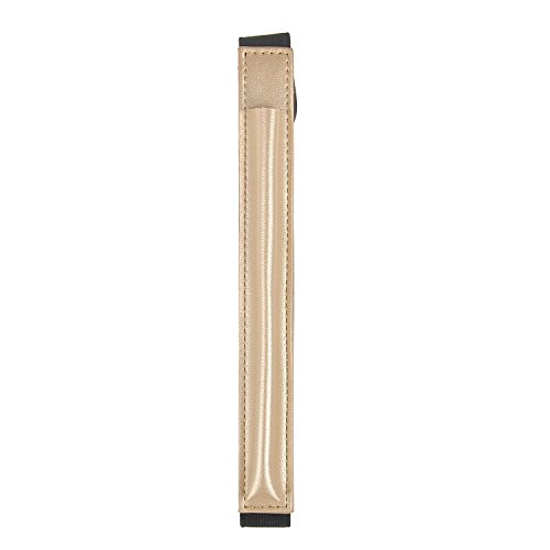 [해외]Apple Pencil 가죽 케이스 IVSO 애플 연필 용 순정 가죽 커버 펜슬 홀더 ipad Pro 10.5 케이스와 호환 고무 밴드 부착 골드/Apple Pencil Leather Case IVSO Apple Pencil Genuine Leather Cover Pencil Holder ipad Pro 10.5 Compatible with Case ...