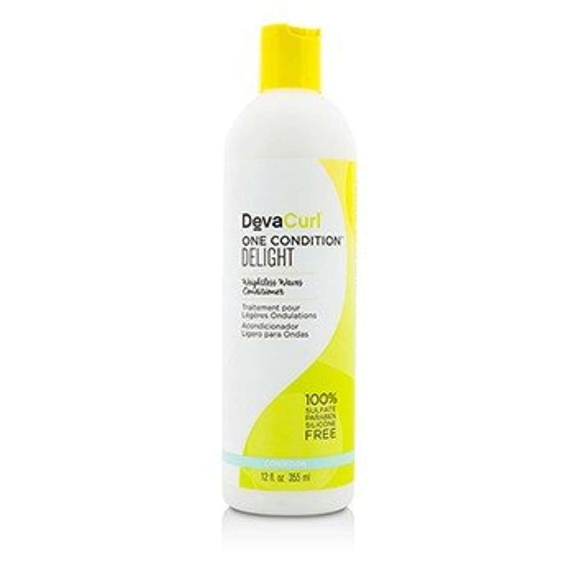 カップ着る球状[DevaCurl] One Condition Delight (Weightless Waves Conditioner - For Wavy Hair) 355ml/12oz