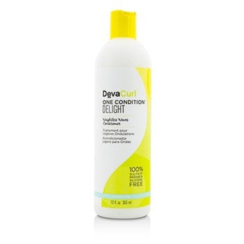 深めるペット不毛の[DevaCurl] One Condition Delight (Weightless Waves Conditioner - For Wavy Hair) 355ml/12oz