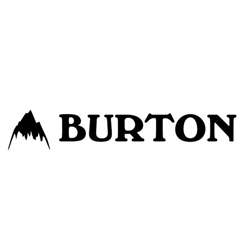 BURTON バートン 【Logo Sticker 約5.5cm×約27cm】 Black ス・・・