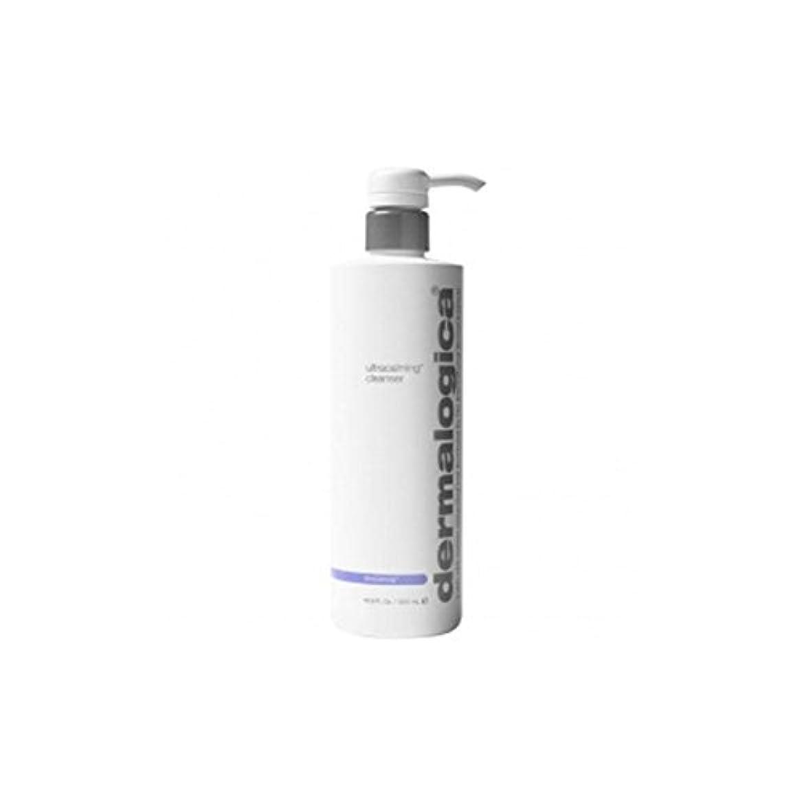 深い策定するアミューズメントダーマロジカクレンザー(500ミリリットル) x4 - Dermalogica Ultracalming Cleanser (500ml) (Pack of 4) [並行輸入品]