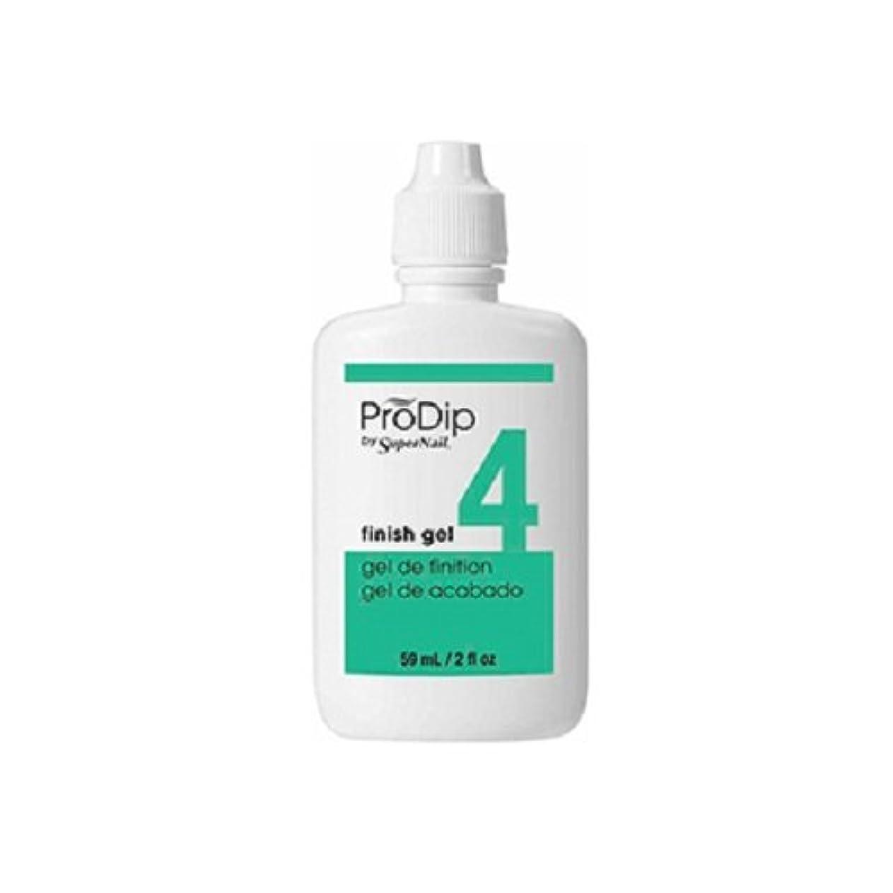 スタッフ逃れる登録SuperNail ProDip - Finish Gel - 59 ml/2 oz