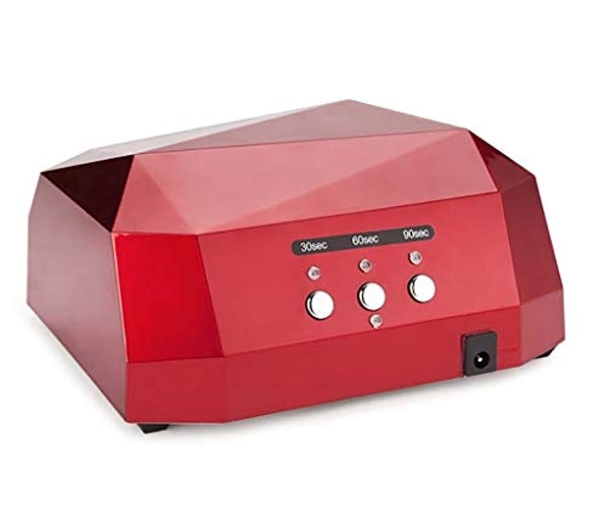 リスナー締める常識LED36W理性的な誘導は乾燥の釘機械、30s / 60s / 90sタイマーの設定を導きました (色 : D)