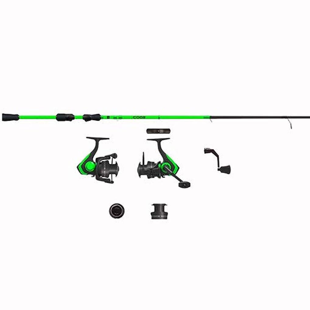 エチケットペンスファンブル13 Fishing 13 Fishing Code Neon - 6フィート7インチ M スピニングコンボ (2000サイズリール) - 2 Pc 13 フィッシングコード ネオン - 6フィート7インチ M スピニングコンボ (2000サイズリール) - 2 Pc
