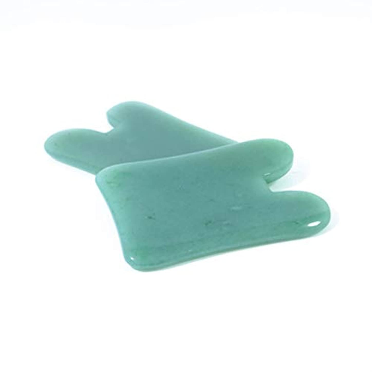 医療過誤ホスト天窓Natural Portable Size Gua Sha Facial Treatment Massage Tool Chinese Natural Jade Scraping Tools Massage Healing...