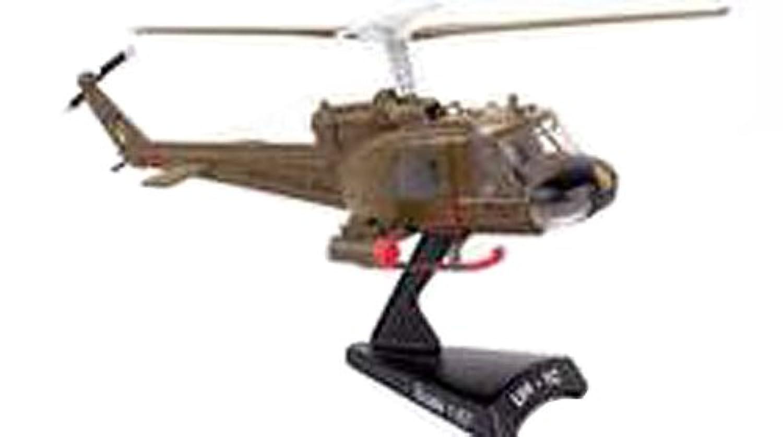 POSTAGE STAMP 1/87 UH-1 アメリカ陸軍 第1騎兵師団 Gunship 完成品