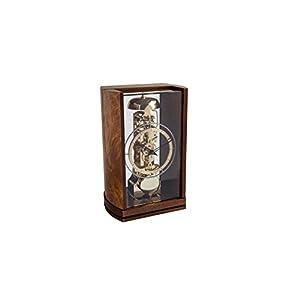 hermle 置き時計・掛け時計 ブラウン 25.5×16.5×11㎝