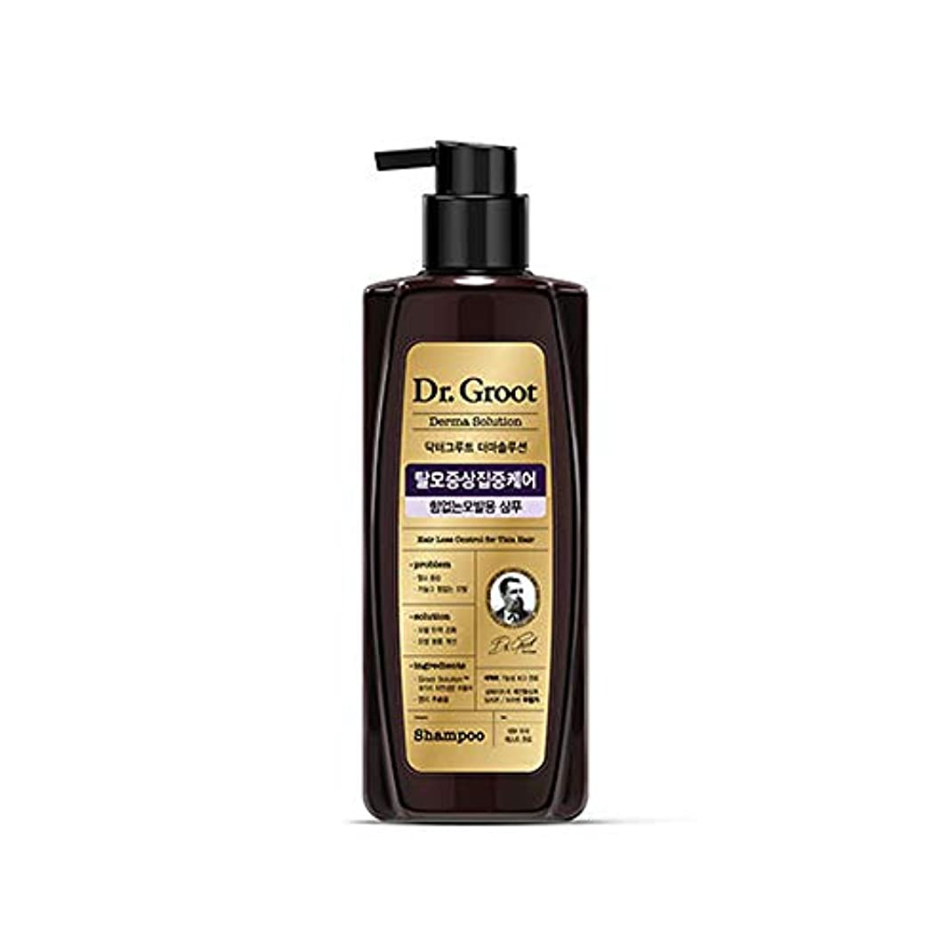 本鋭く真空【Dr.Groot】 ドクターグルート Dr.グルート 脱毛防止シャンプー 弱い髪質用(Anti Hair Loss Shampoo -For weak hair-)