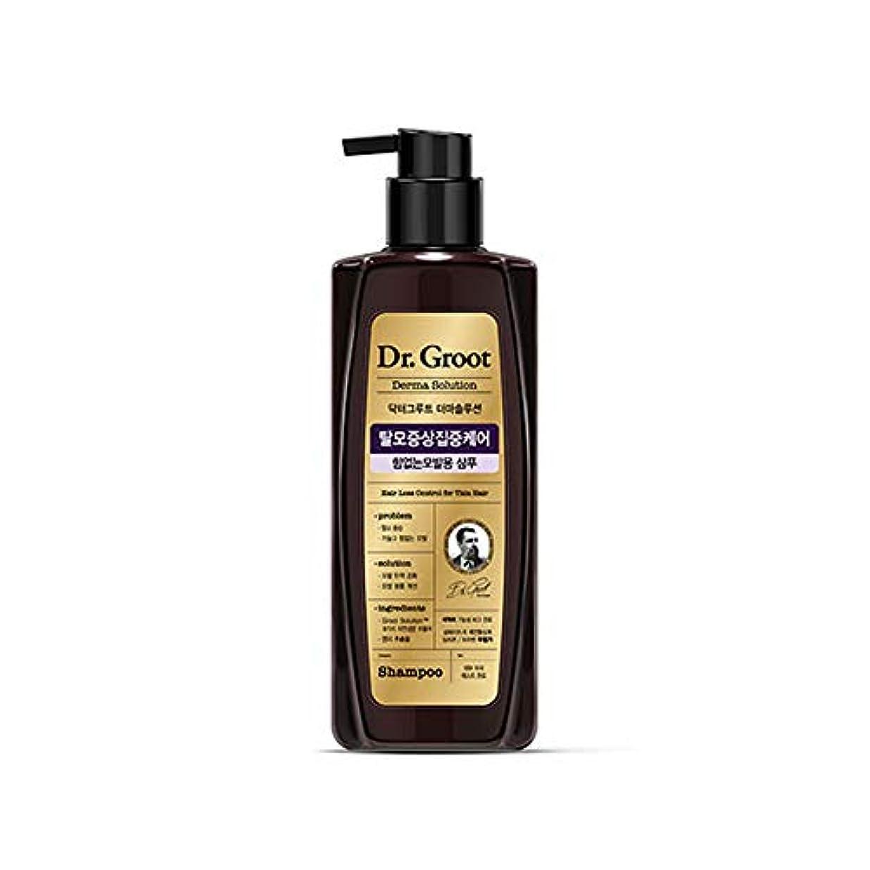 最小代理人塩【Dr.Groot】 ドクターグルート Dr.グルート 脱毛防止シャンプー 弱い髪質用(Anti Hair Loss Shampoo -For weak hair-)