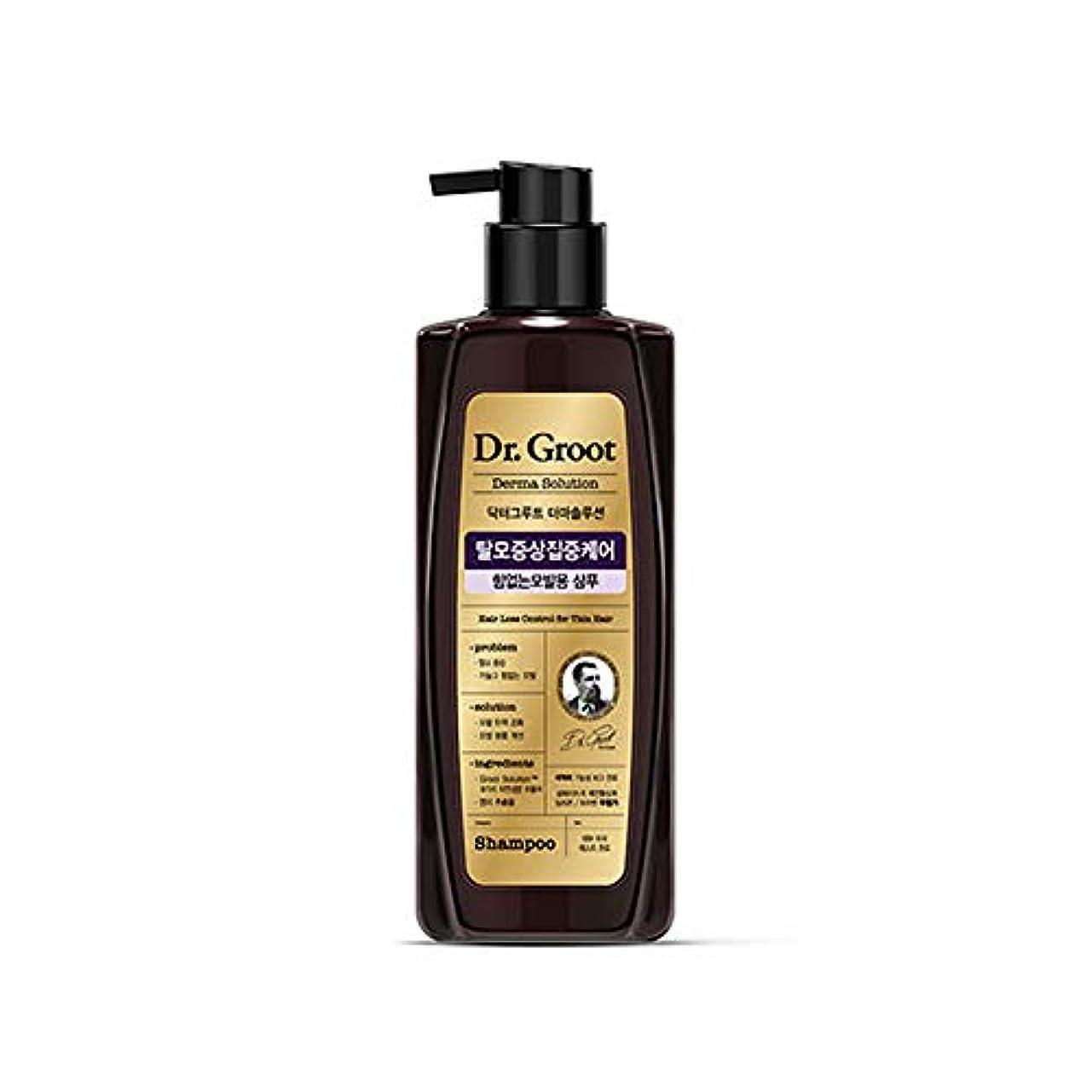 変更二層ウナギ【Dr.Groot】 ドクターグルート Dr.グルート 脱毛防止シャンプー 弱い髪質用(Anti Hair Loss Shampoo -For weak hair-)