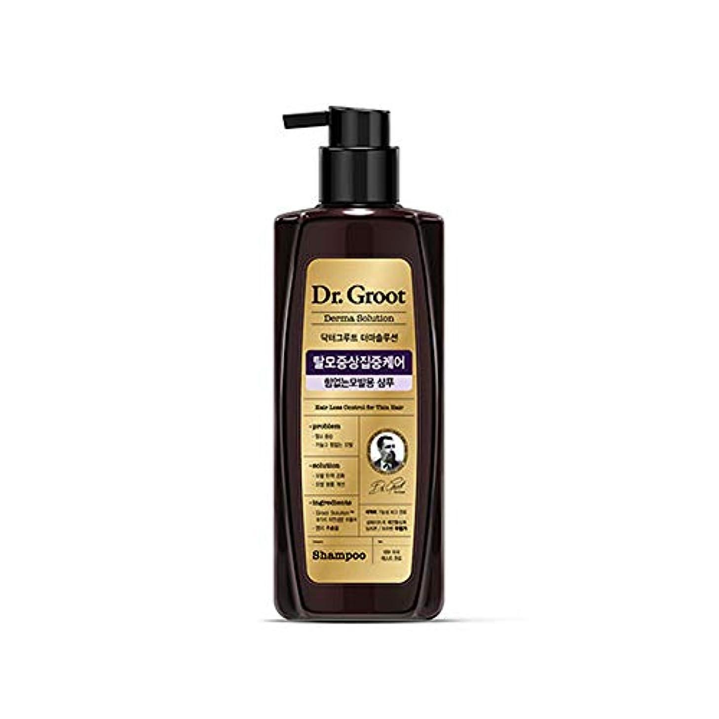 淡い効果体操【Dr.Groot】 ドクターグルート Dr.グルート 脱毛防止シャンプー 弱い髪質用(Anti Hair Loss Shampoo -For weak hair-)