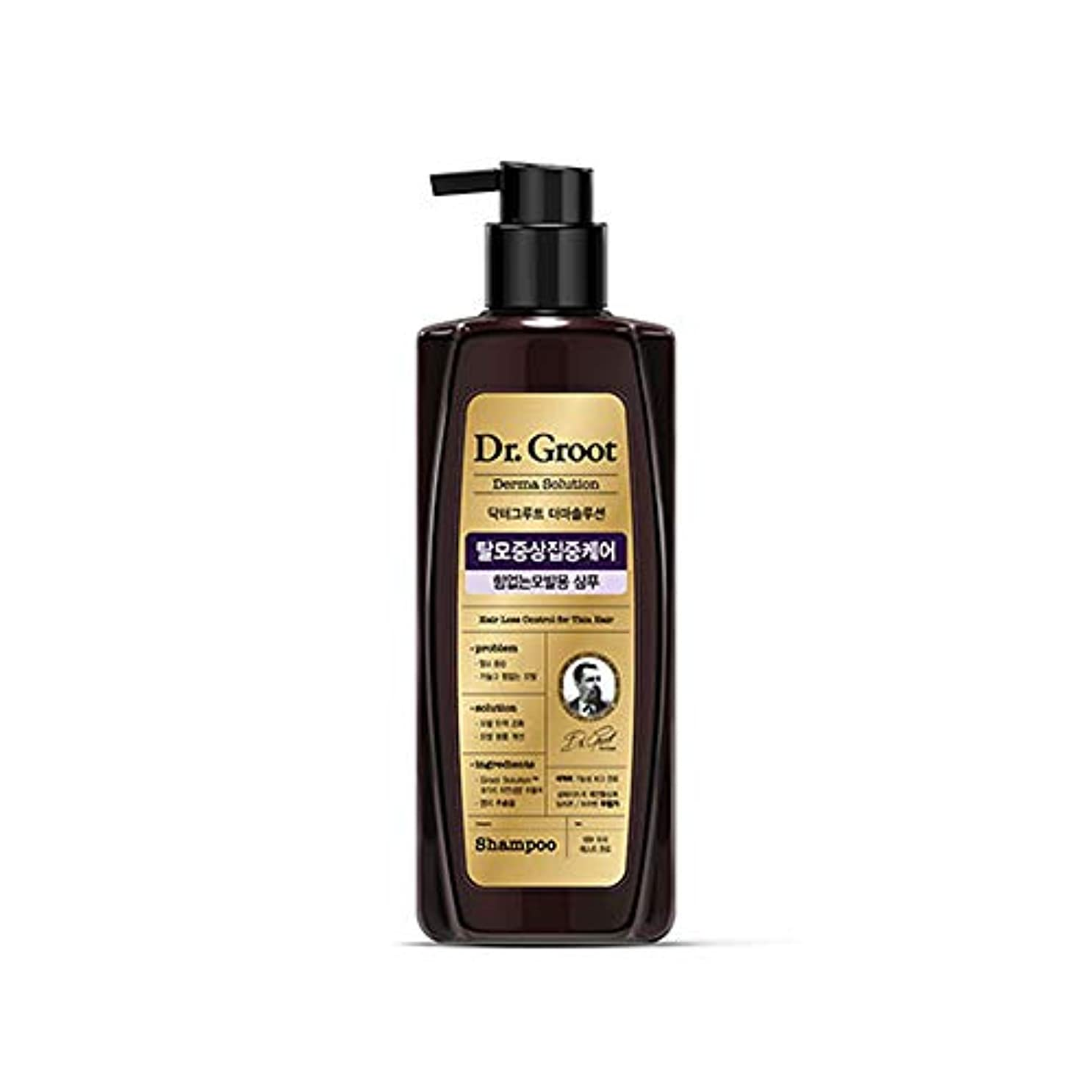 【Dr.Groot】 ドクターグルート Dr.グルート 脱毛防止シャンプー 弱い髪質用(Anti Hair Loss Shampoo -For weak hair-)