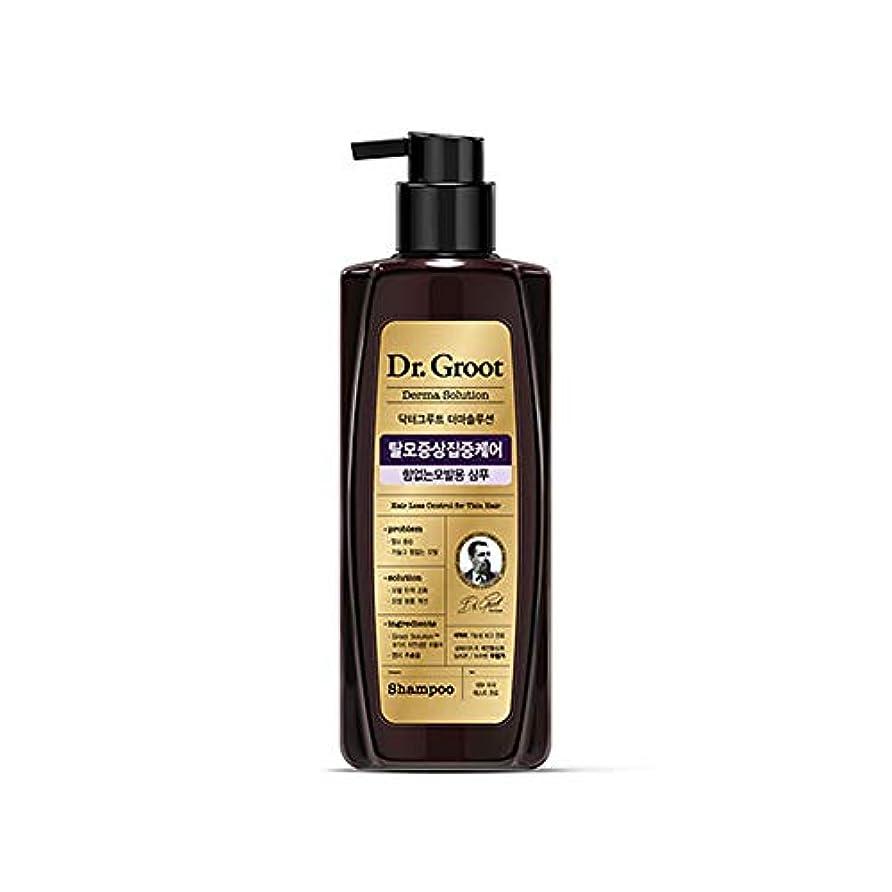 スラム街シャッフル一時解雇する【Dr.Groot】 ドクターグルート Dr.グルート 脱毛防止シャンプー 弱い髪質用(Anti Hair Loss Shampoo -For weak hair-)