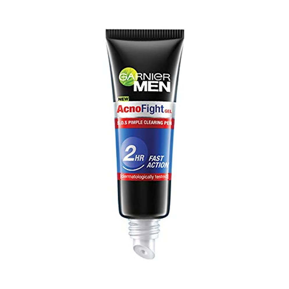 重くする座る敏感なGarnier Men Acno Fight Pimple Clearing Gel,10ml