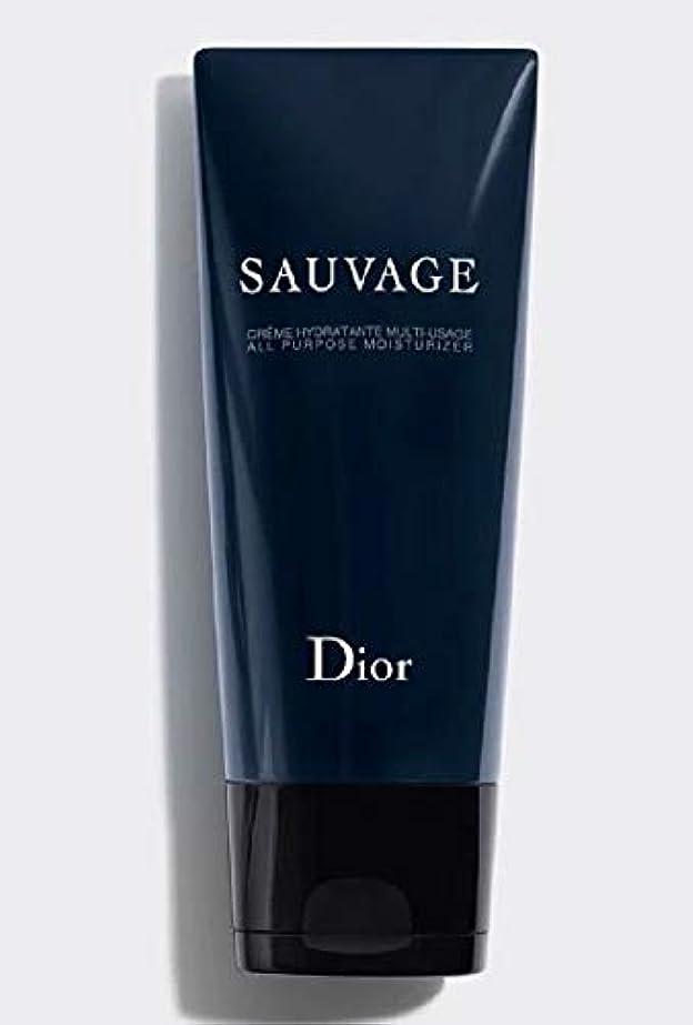 どんよりしたいつでも哲学者【国内正規品?限定品】Dior ディオール ソヴァージュ オール パーパス モイスチャライザー(保湿クリーム)150ml