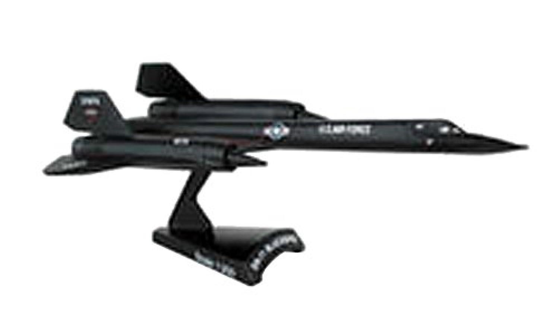 POSTAGE STAMP 1/200 SR-71 ブラックバード アメリカ空軍 完成品