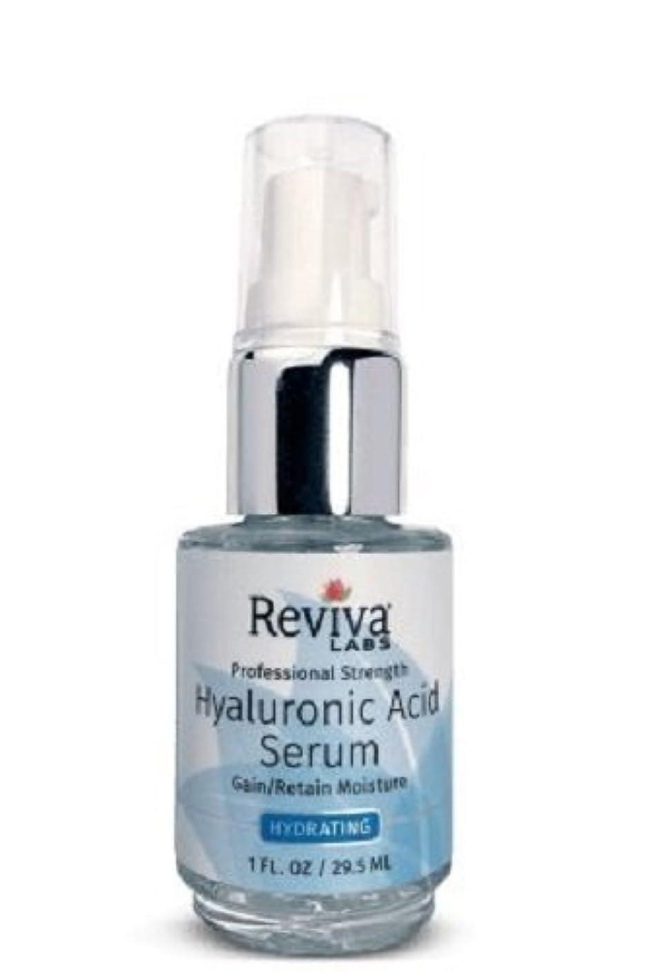 一緒口頭モノグラフReviva Labs, Professional Strength Hyaluronic Acid Serum, 1 fl oz (29.5 ml)