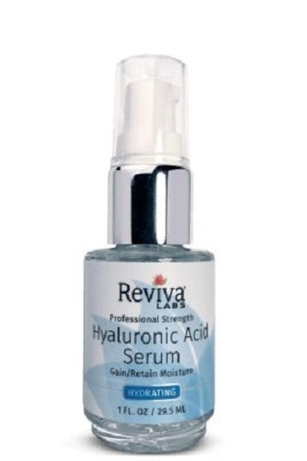 告白するライン知覚するReviva Labs, Professional Strength Hyaluronic Acid Serum, 1 fl oz (29.5 ml)
