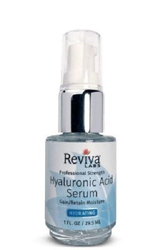 カレッジ宿泊施設乗り出すReviva Labs, Professional Strength Hyaluronic Acid Serum, 1 fl oz (29.5 ml)