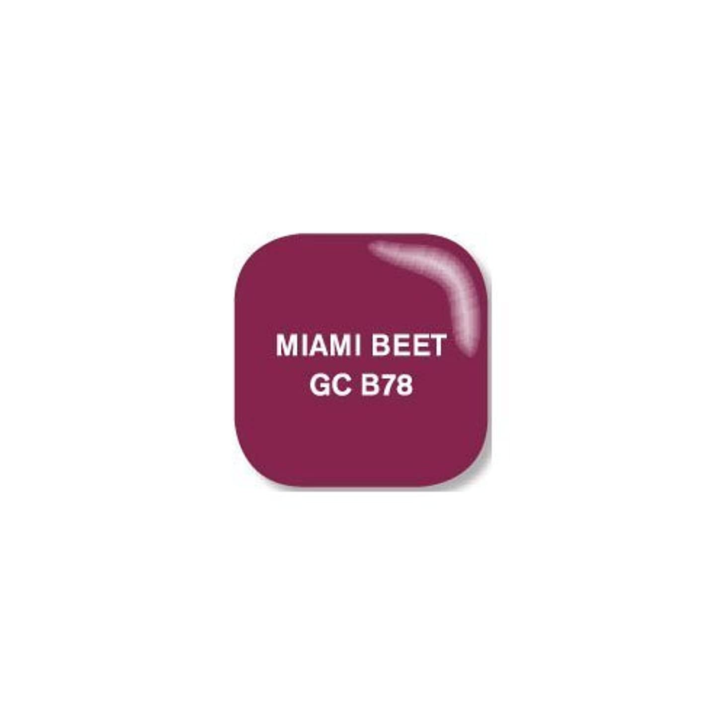 気難しいジョガーカウンターパートOpi O.P.I Gelcolor Collection Nail Gel Lacquer Miami Beet 0.5 Fluid Ounce by O.P.I