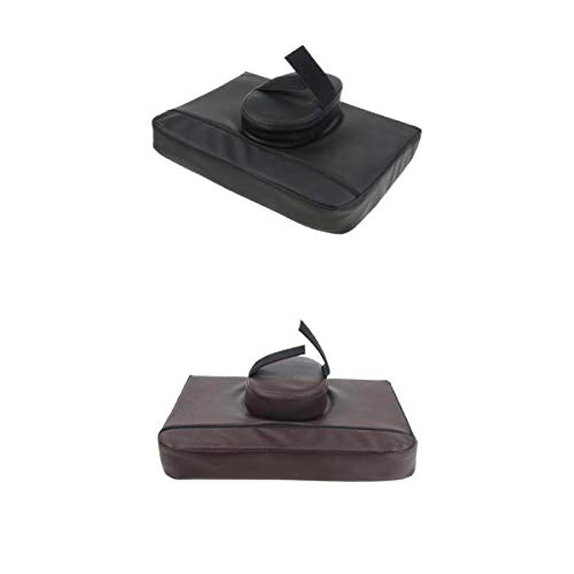 マッサージクッション マッサージ枕 マッサージピロー スクエア マッサージテーブル用 通気性 2個入