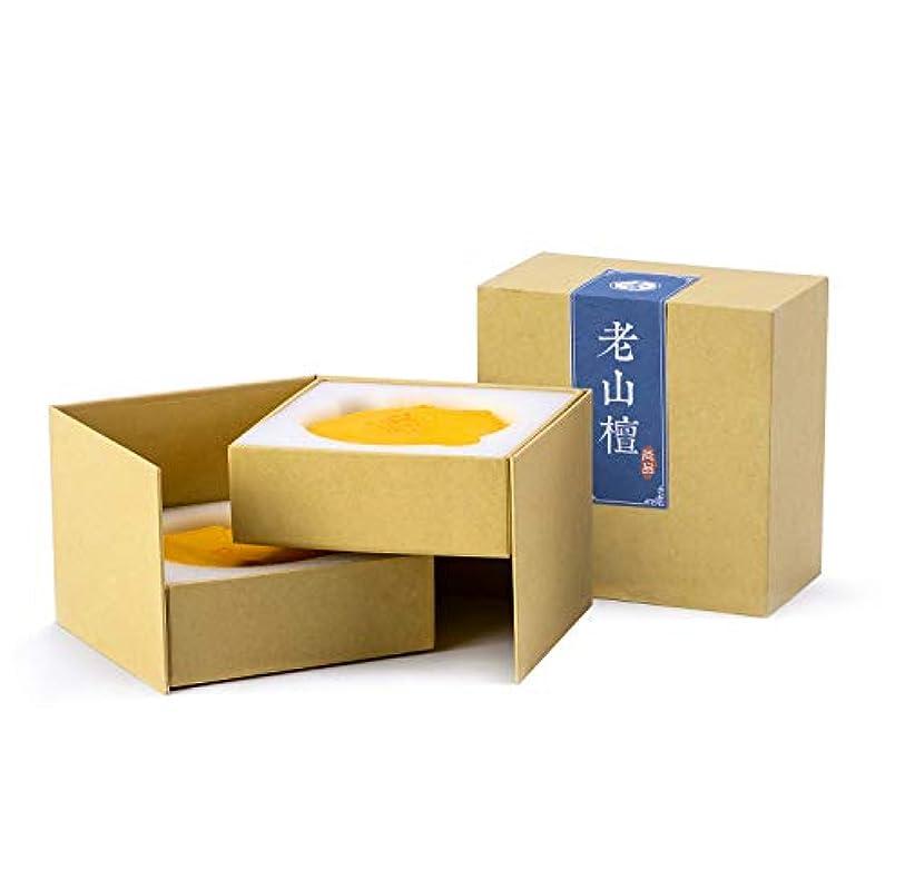 薬局割る回復するHwagui お香 上級 渦巻き線香 白檀 瀋香 ヨモギ 優しい香り 2時間 40巻入