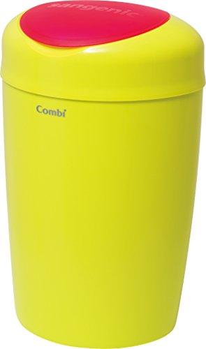 コンビ Combi 紙おむつ処理ポット 5層防臭おむつポット スマートポイ シャトルーズグリーン おむつ約180枚分たっぷり処理