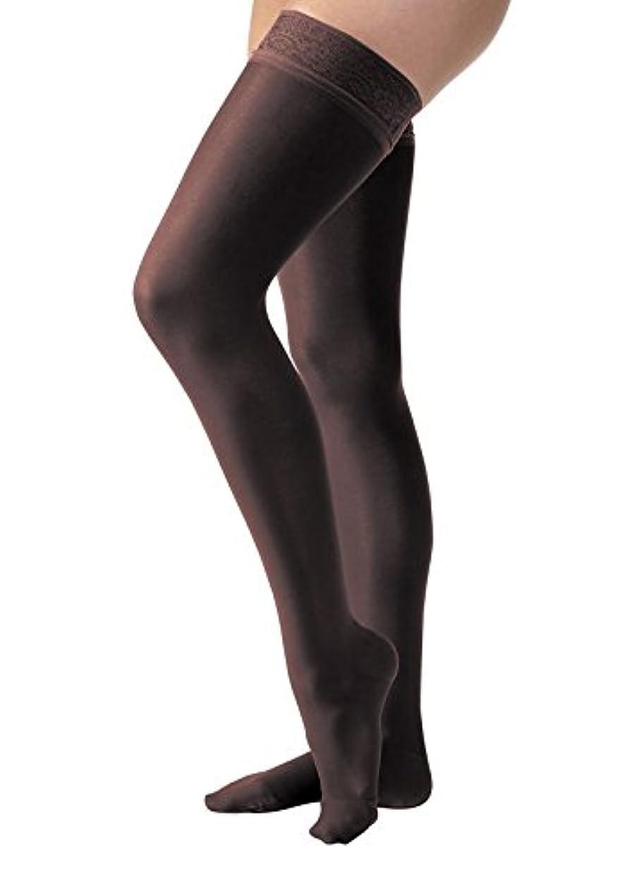村沼地検出可能Jobst 119663 Ultrasheer PETITE Thigh Highs 30-40 mmHg Firm with Lace Silicone Top Band - Size & Color- Classic...
