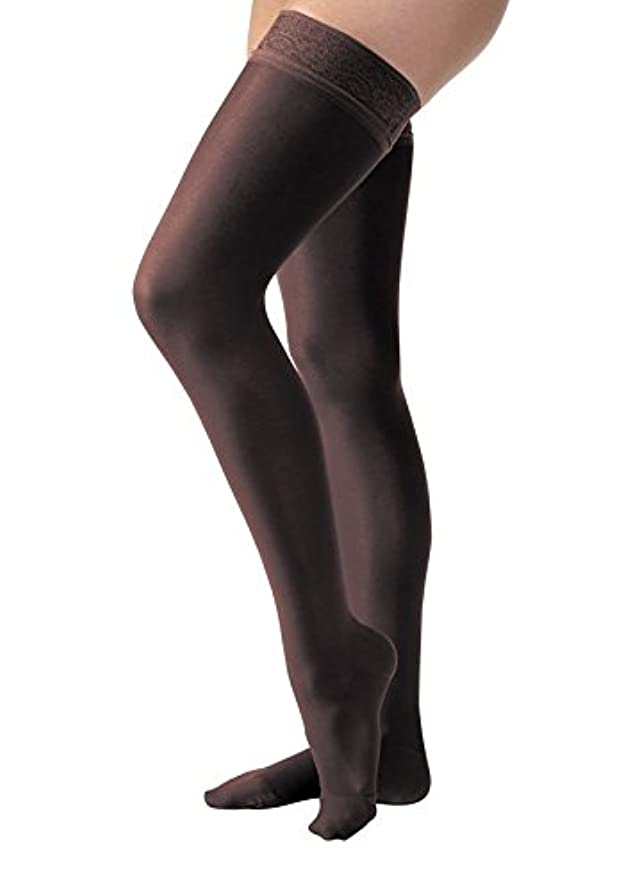 ベリーとても多くのJobst 119661 Ultrasheer PETITE Thigh Highs 30-40 mmHg Firm with Lace Silicone Top Band - Size & Color- Classic...