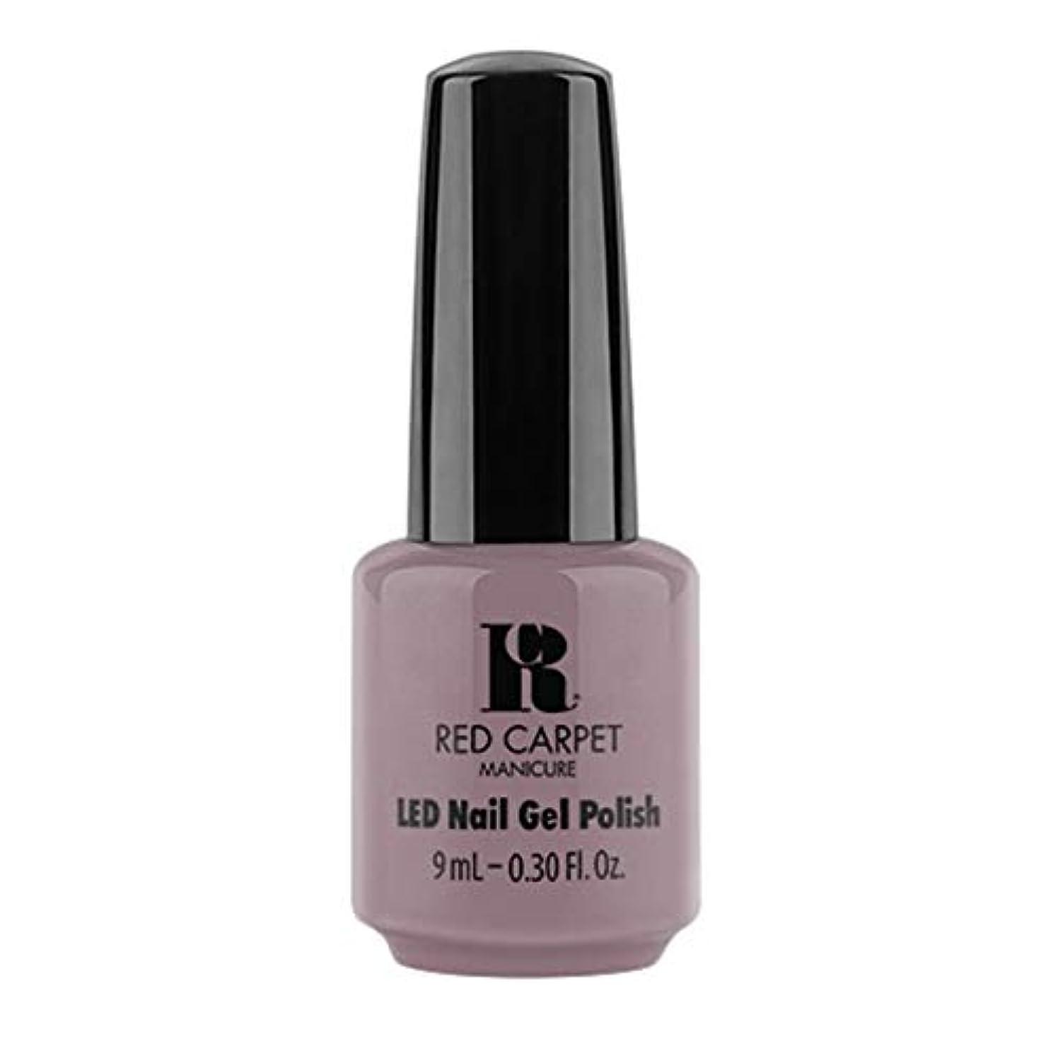 カスケード大使館オプションRed Carpet Manicure - LED Nail Gel Polish - Greige Days- 9ml / 0.30oz