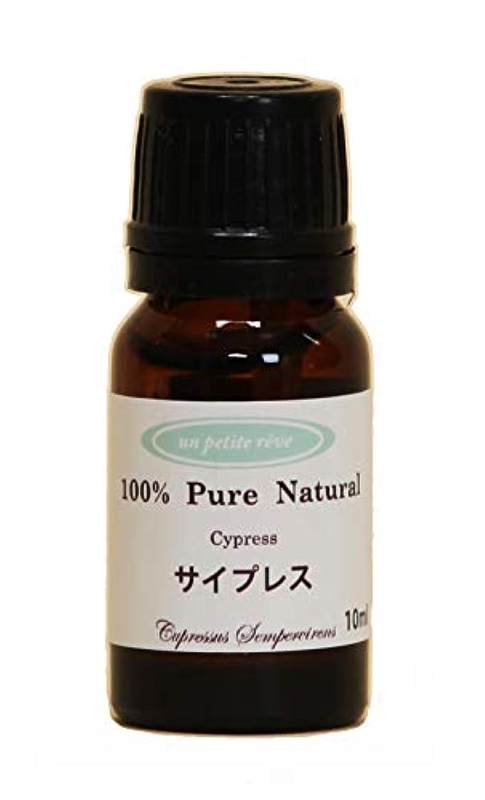 プリーツ効能精査するサイプレス 10ml 100%天然アロマエッセンシャルオイル(精油)