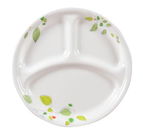 CORELLE グリーンブリーズ ランチ皿(大) 26cm