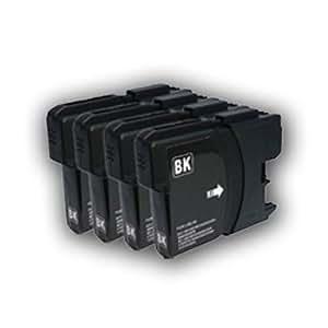 Brother ブラザー LC11BK ブラック4本セット 汎用・互換インク カートリッジ