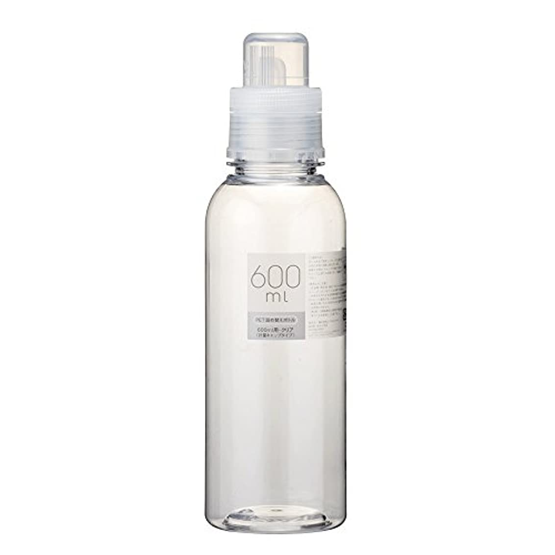 発揮する凝縮する酸っぱい詰替ボトル 600ml クリア Ⅱ