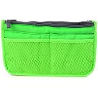 多機能 便利 バッグインバッグ システムバッグ インナーバッグ 選べるカラー (アップルグリーン)