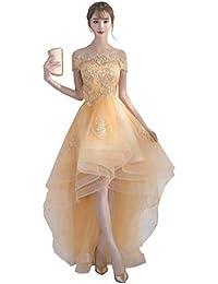 d9ae159af873f Amazon.co.jp  ゴールド - パーティードレス   ワンピース・ドレス  服 ...