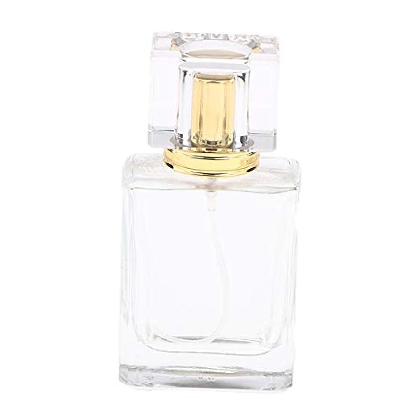 編集者眩惑するチャンバー香水瓶 ポンプ式 ボトル 50ml 香水スプレーボトル 化粧水 詰め替え式 アロマオイル瓶 全5種 - ゴールデンキャップ