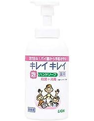 【業務用 大容量】キレイキレイ 薬用 泡ハンドソープ シトラスフルーティの香り 本体ポンプ 550ml(医薬部外品)