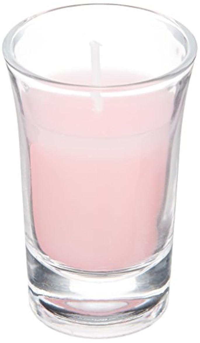 信じられないかご視聴者ラナンキュラスグラスキャンドル 「 ピンク 」