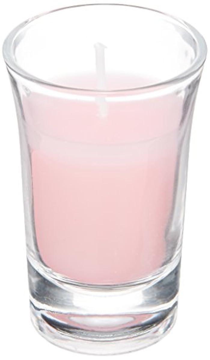 線運動する学部長ラナンキュラスグラスキャンドル 「 ピンク 」