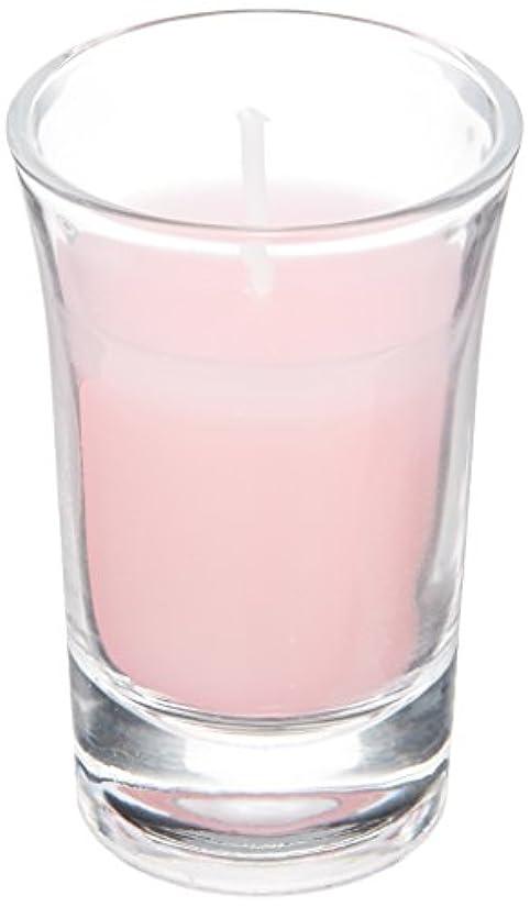 ページェント視聴者医療過誤ラナンキュラスグラスキャンドル 「 ピンク 」