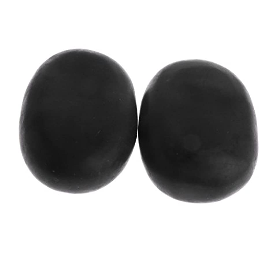 鬼ごっこ個性ギャンブルKesoto マッサージ石 2個 温泉石 玄武岩 火山石 マッサージ 溶岩 自然石